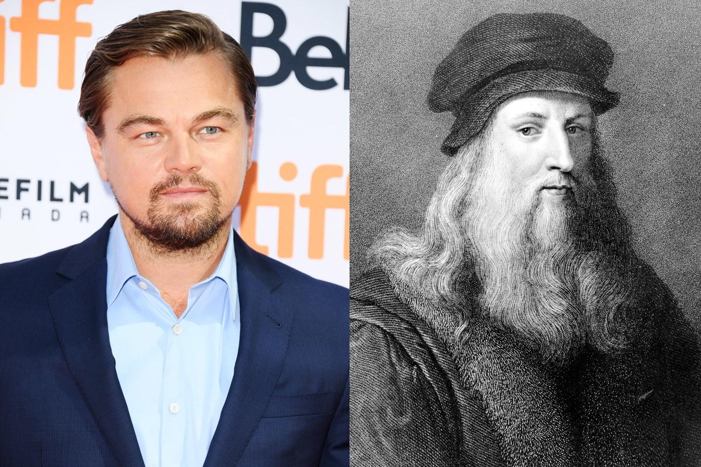 Leonardo da Vinci biopic starring Leonardo DiCaprio